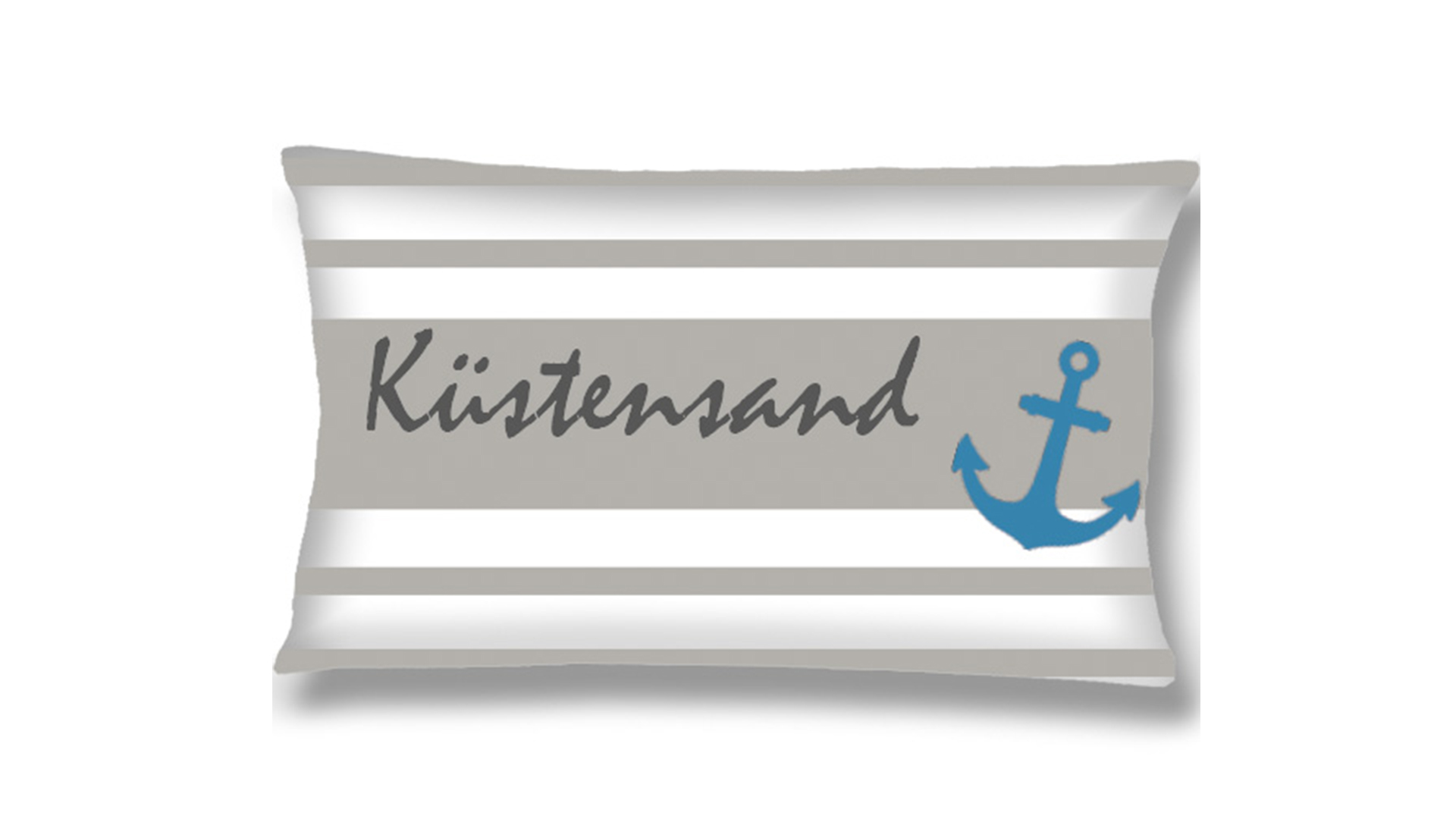 kissen zierkissen maritime ahoi 30 x 50 kbt. Black Bedroom Furniture Sets. Home Design Ideas