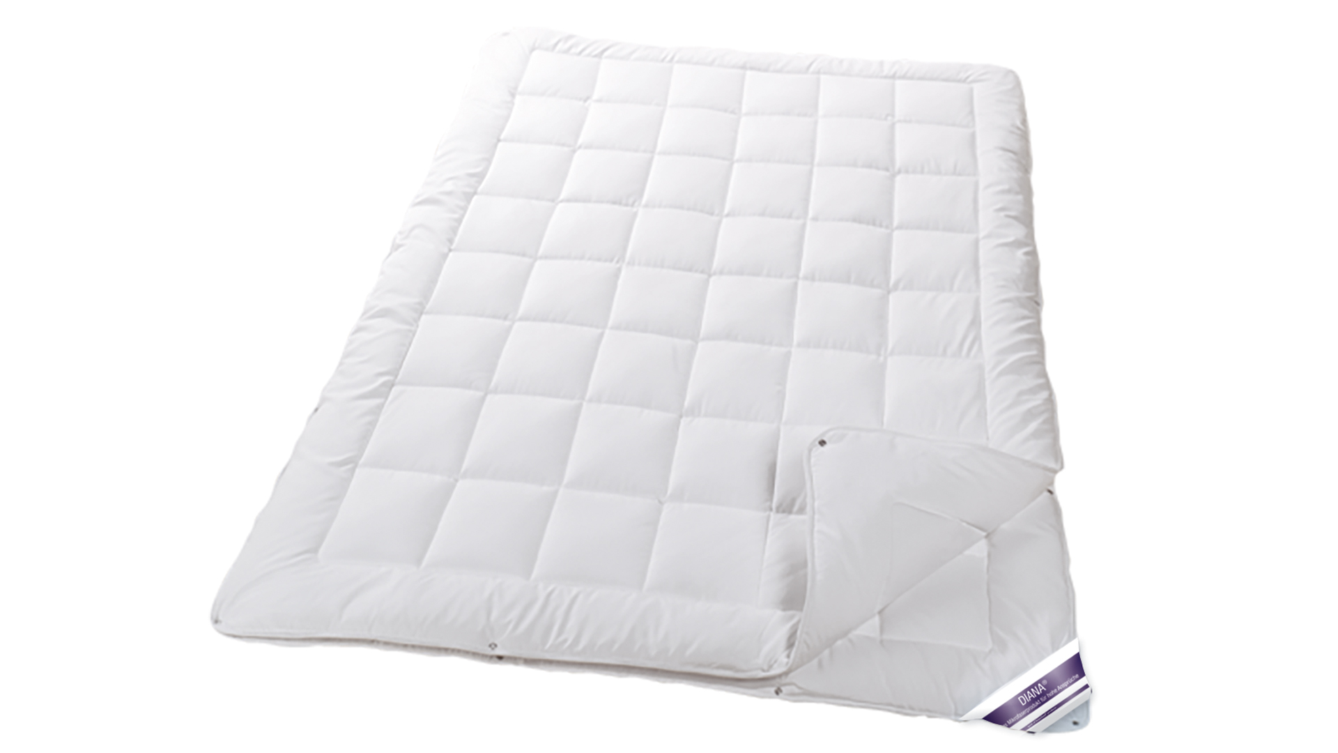 155x220cm übergröße Bettdecke DIANA 4 Jahreszeitenbett 155 x