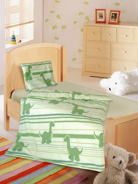 Roooaar Dino Bettwäsche für Kinder von KBT Bettwaren