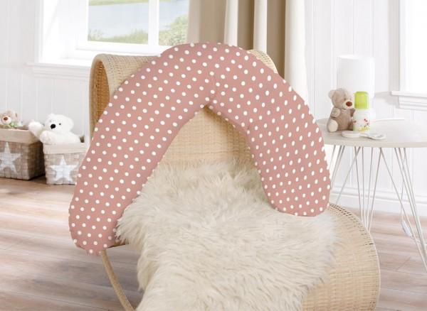 Für werdende Mütter - Das Stillkissen in rosa von KBT Bettwaren