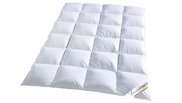 Betten aus deutschen Landen - Die Daunen Kassettendecke 155x220cm - Für Sie - Made in Germany