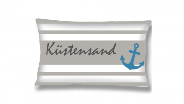 Goldmond Home Zierkissen -maritime- Anchor 30 x 50 cm
