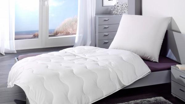 Sleep and Dream Bettenset Kopfkissen 80 x 80 cm, Decke 135 x 200 cm