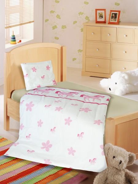 Einhörner kommen nie aus der Mode - Kinderbettwäsche zum träumen von KBT Bettwaren