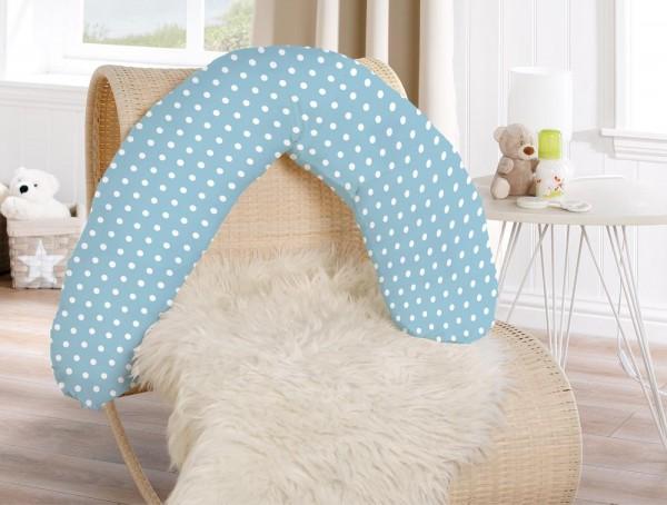 Für werdende Mütter - Das Stillkissen in blau von KBT Bettwaren