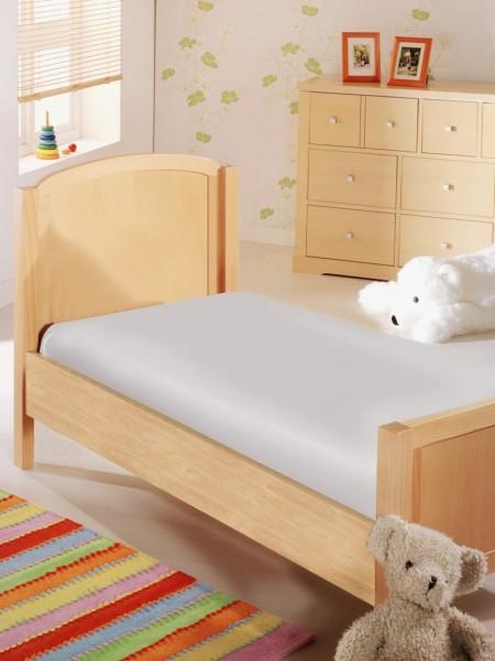 Baby Spannbettlaken in Jersey Qualität - sandfarben