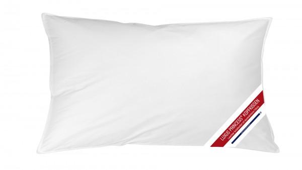 LuxusPrinzess Komfort Kopfkissen 40x80cm mit Aussensteg
