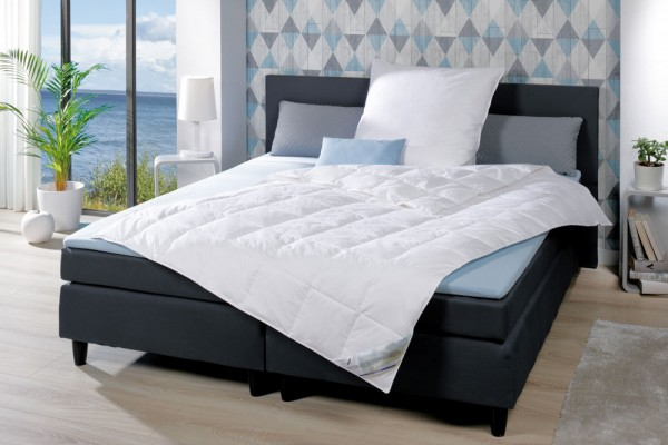 Betten aus deutschen Landen - Sommerdaunendecken 135x200cm - Made in Germany - Milieu